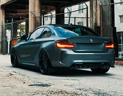 BMW M2 Body Kit Custom HRE Wheels