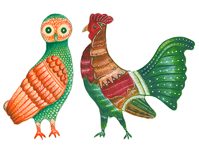 Greek Animals Illustrations