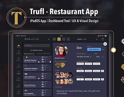 Trufl Restauarant App