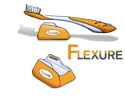 Flexure Replaceable Head Toothbrush