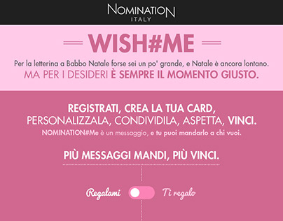 Nomination #ME - New website offer