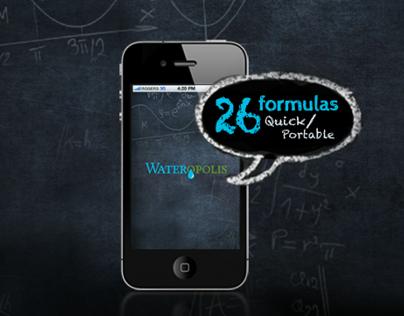 Wateropolis Fluid Calculator - Iphone App