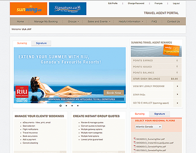 Travel Agents Portal