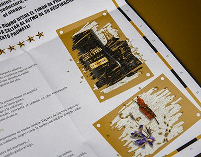 Scratchable ink – Jean Paul Gaultier