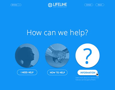 Lifeline Website Design