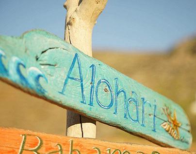Alohari Beach Bar | Handcrafted Prints