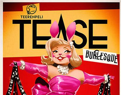 Teerenpeli Tease Burlesque Posters