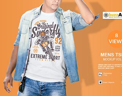 Men's T shirt Mockup