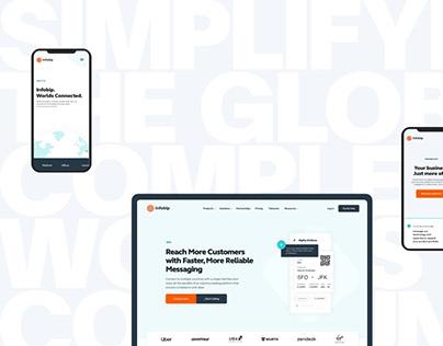 Infobip—Lead Generation Website