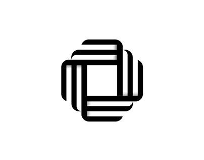 Fresh clean black eye-catching minimal logo design