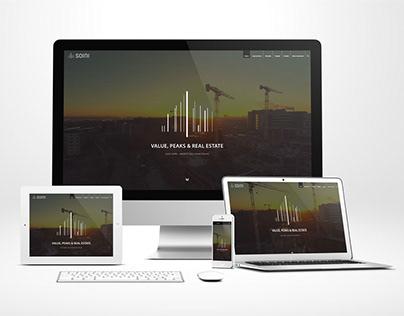 Responsive Website für Soini