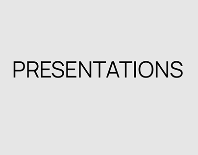 Презентации | PRESENTATIONS