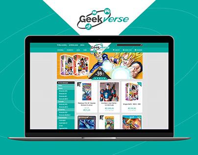 Geekverse E-Commerce Visual Identity & UX Design
