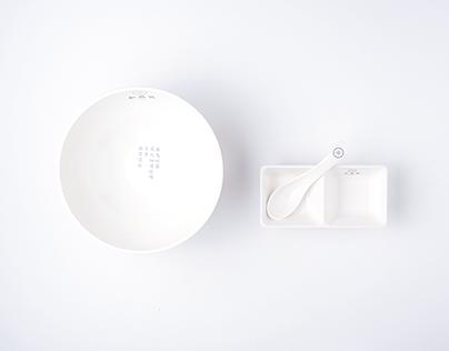 Chinese Food——branding design Steamed Bun HE WAN XING