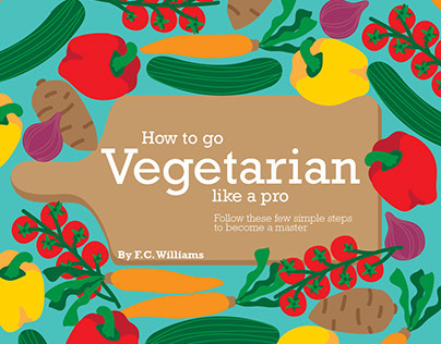 Magazine Layout: Vegetarian