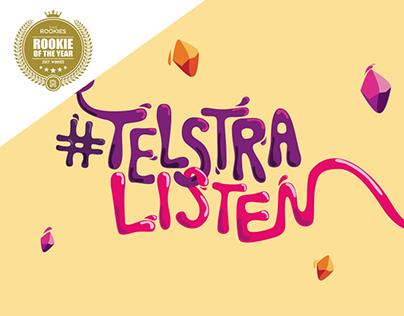 Telstra Listen - Event Campaign Design