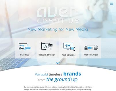 Aver Creative Web Design Project