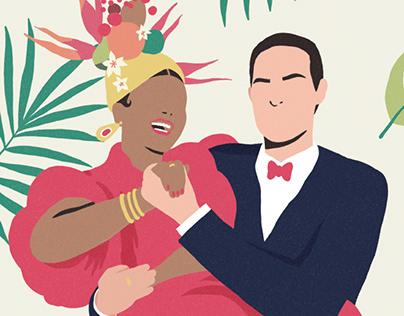 E&T | Wedding invitation design