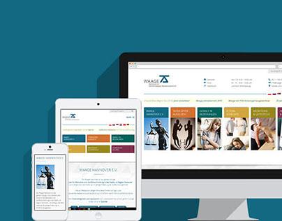 17MEDIA Webdesign → waage-hannover.de