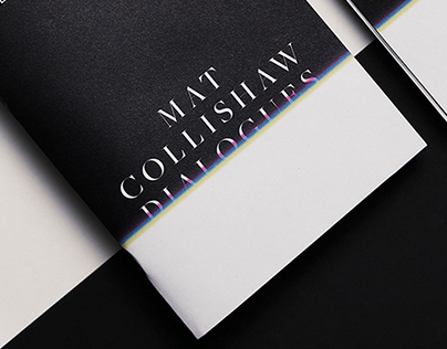 Brochure exhibition Mat Collishaw. Dialogues