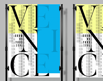 SHOW US YOUR TYPE — Venice poster