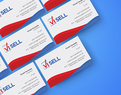 VI SELL - Business card design (Brand Identity)
