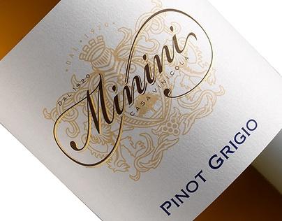 Minini Wine Label Design by the Labelmaker
