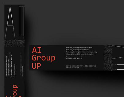 AI, Group Up | Visual Identity