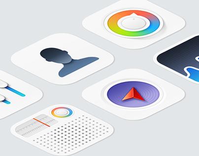 iOS 7 Minimanimal icons replacement