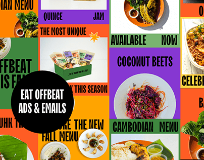 Eat Offbeat Ads & Emails