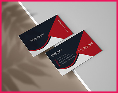 BUSINESS CARD BY ILLUSTRATOR