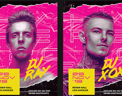 Hype - DJ Flyer Template