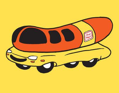 Oscar Mayer Wienermobile Run