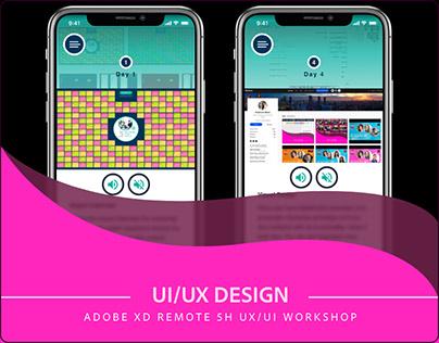 Remote 5h UX/UI Workshop in Adobe XD