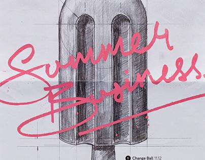 Change Auckland / Summer Business / Print