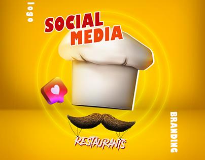 Restaurants Social Media & ( Logo - Branding )