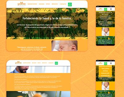 Diseño Web - Vacunatorio Concepción