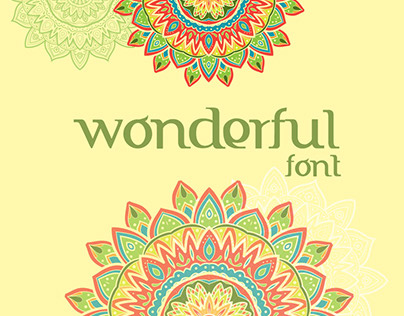 Wonderful Font | FTF Indonesiana Serif PRO