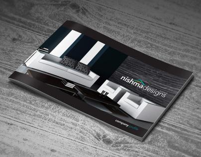 Company Profile Brochure | Interior Design