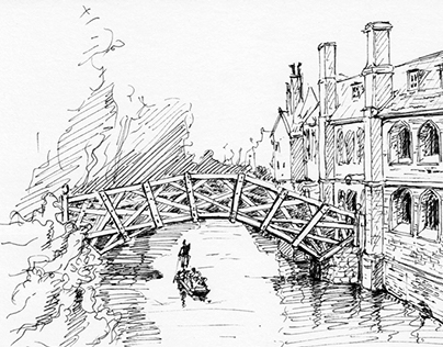 Cambridge - Inktober 2015 Challenge