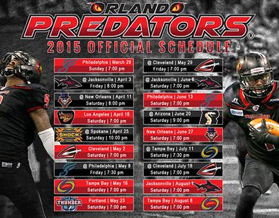 Orlando Predators - Schedule/Tickets