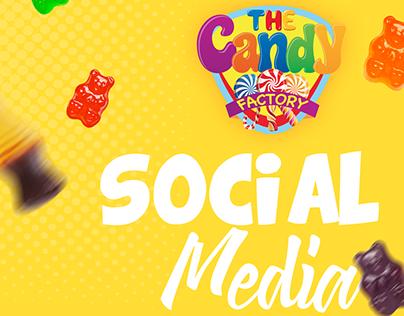 Social Media Designs - Candy Factory Co.