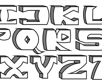 Taz-alphabet