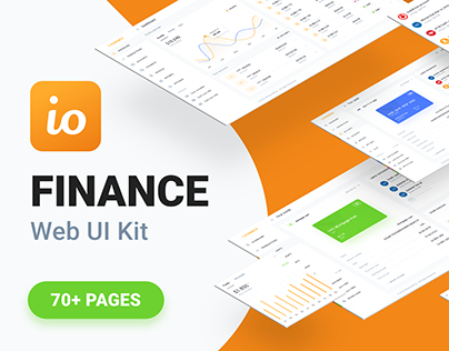 IOFINANCE - Web UI kit for finance and banking services