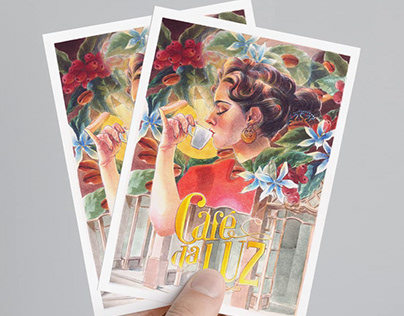 Café da Luz art and stationery