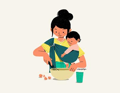 Mom series