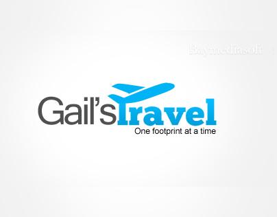 Logo Design for Gail's Travel
