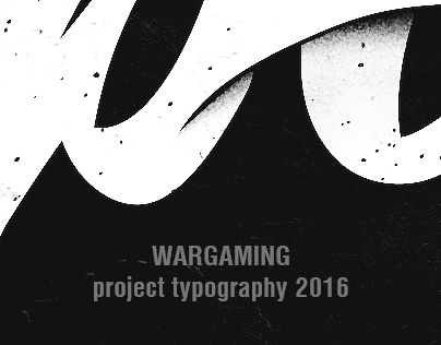 Wargaming project typography 2016