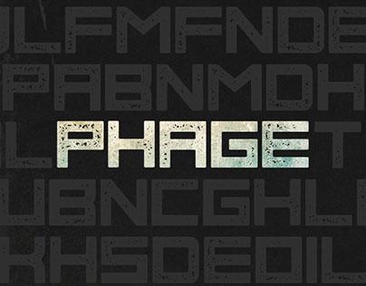 Phage - Free Font