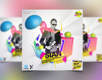 Another Level - Sian Flyer Mockups